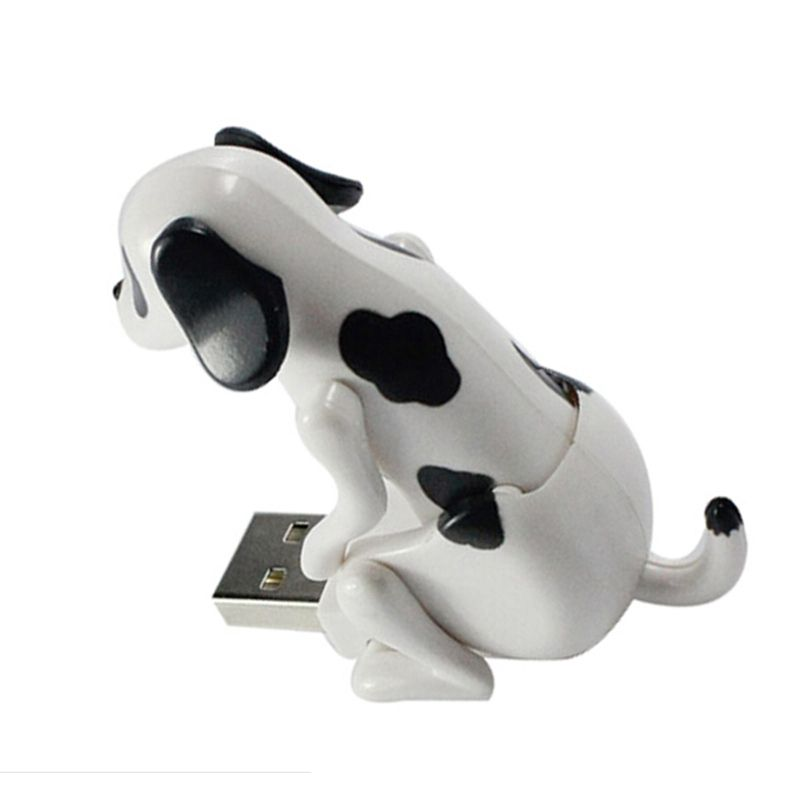 Funny Cute Pet USB 2 0 Adapter Humping Spot Dog Rascal Toy Novelty Christmas Gift Trinket Gad Relieve Pressure fice Worker in Converters from puter