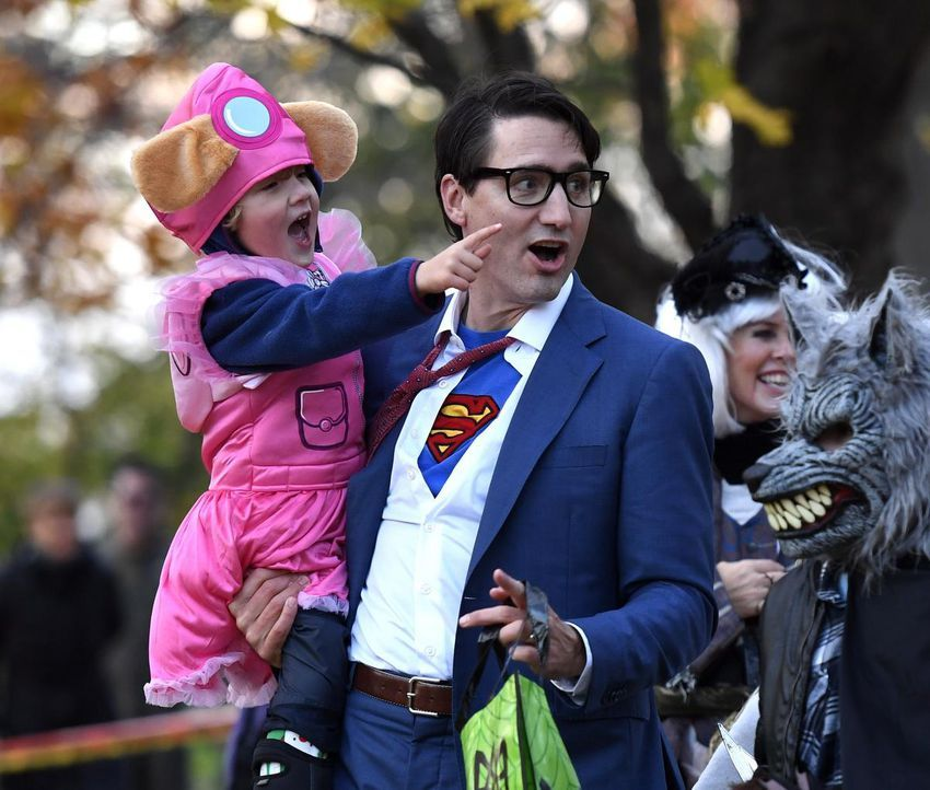 Ghosts goblins and government officials Canadians considering Justin Trudeau costume for Halloween this year
