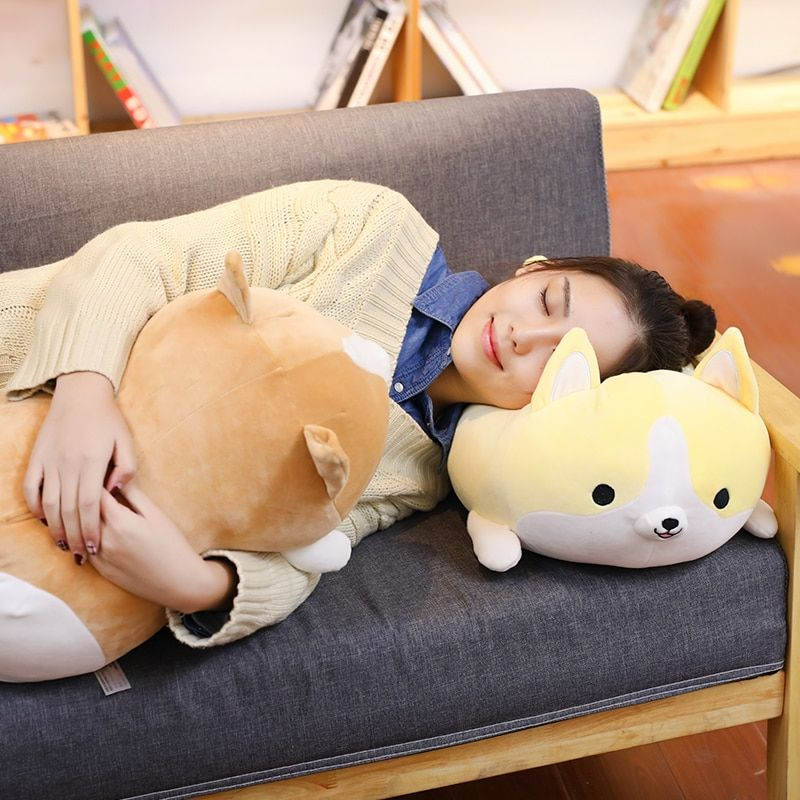 30cm Cute Corgi Dog Plush Toy Stuffed Soft Animal Cartoon Pillow Lovely Christmas Gift Kawaii Valentine Present in Stuffed & Plush Animals from Toys
