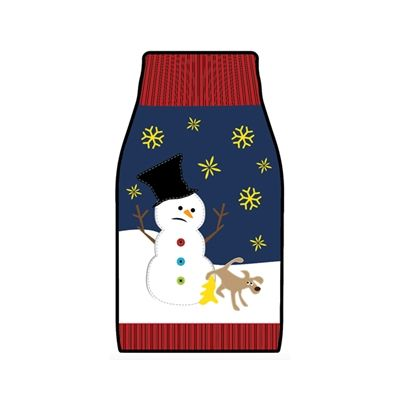 Yellow Snow Funny Christmas Sweater For Dogs