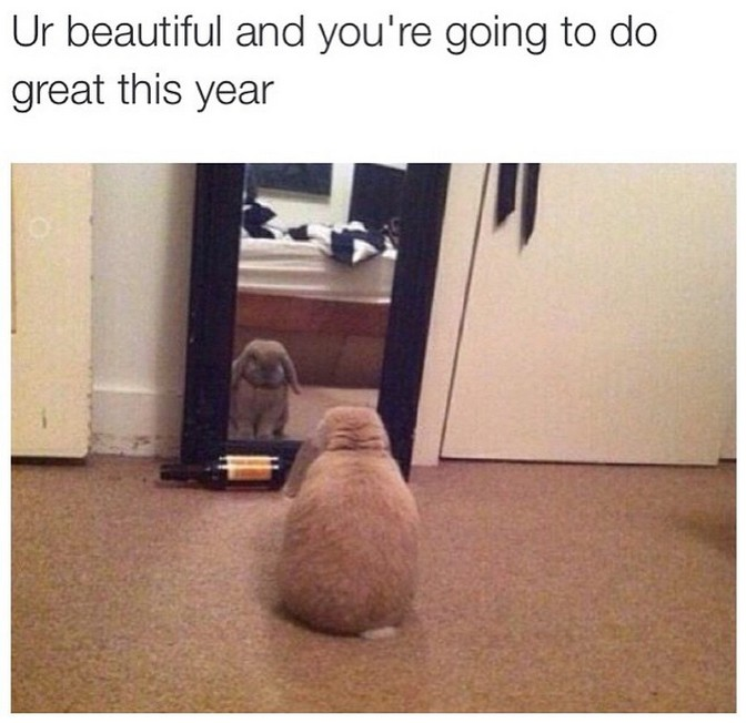 ur beautiful and youre going to do great this year