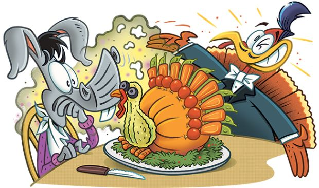 Do you know a funny Thanksgiving joke here to send your joke to us