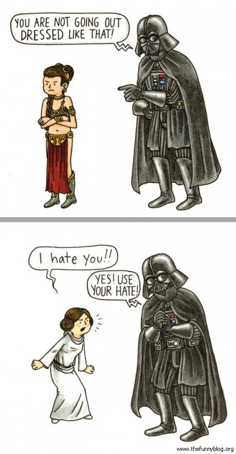 Star Wars You Are Not Going Out Dressed Like That Funny Darth Vader Picture