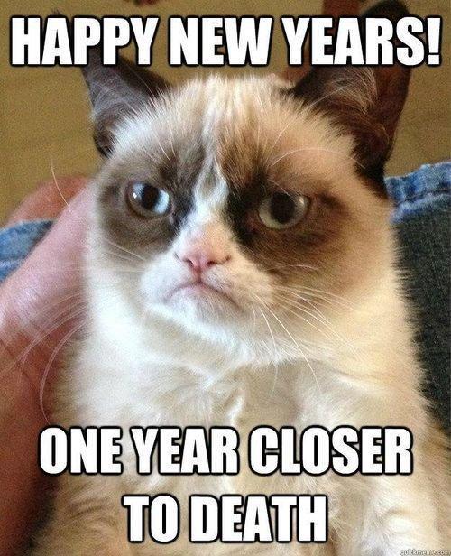 Ah that Grumpy Cat Happy New Year