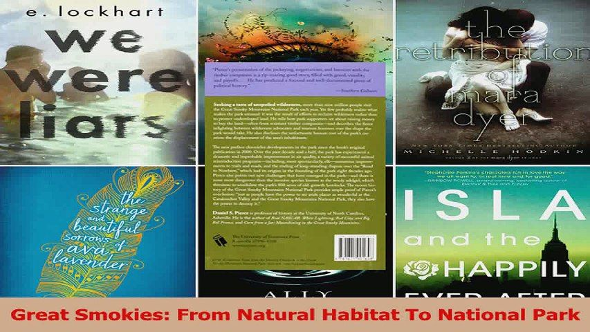Read Great Smokies From Natural Habitat To National Park Ebook Free Video Dailymotion