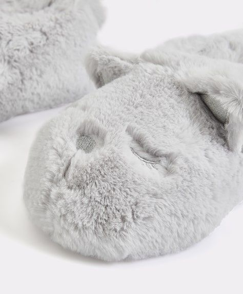 Funny cat slippers 1