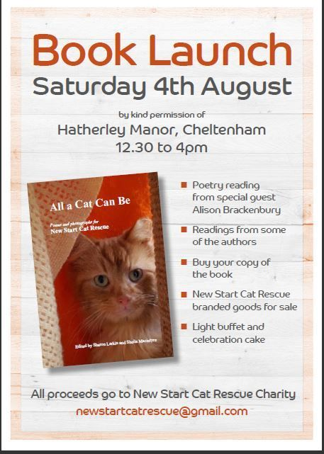 The main event this week was a Book Launch in Cheltenham for a charity anthology that I was fortunate to have the shortest poem apart from short form I