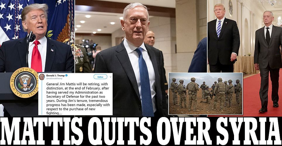 Trump s Pentagon chief Jim Mad Dog Mattis will retire