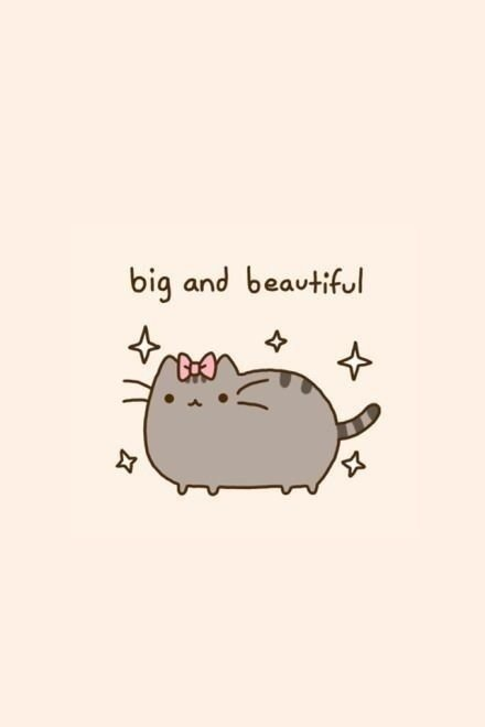 Yessssss big and beautiful kawai pinterest pusheen 440x660 Animal funny pusheen cat pinterest picturesque