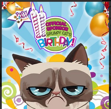 Grumpy Cat clipart happy birthday 6