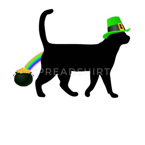 Cat Leprechaun Shirt Funny Cat Saint Patrick s Day Shirt by
