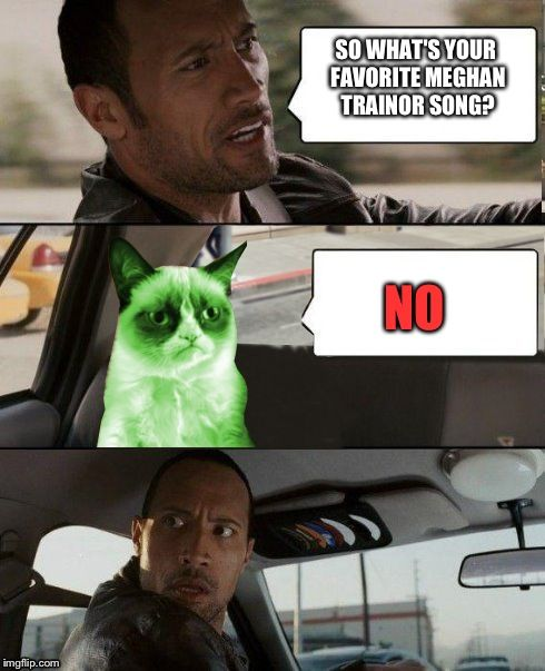 Idek why Grumpy cat is green so don t ask