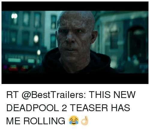 Best Dog Lover Meme 0d Rt This New Deadpool 2 Teaser Has Me Rolling °…