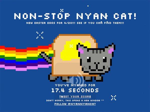NON STOF NTAN CAT NEW EASTER EGGS FOR 4 201