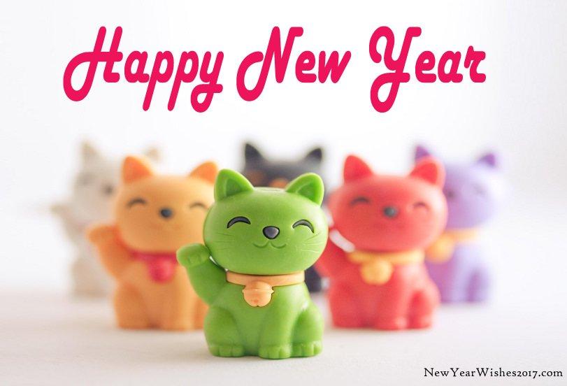 cute happy new year cute happy new year cat animated Happy New Year 2019 Info