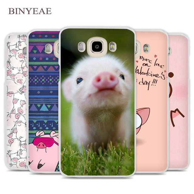 BINYEAE funny cute lovely pig Phone Case Cover for Samsung Galaxy J1 J2 J3 J5 J7