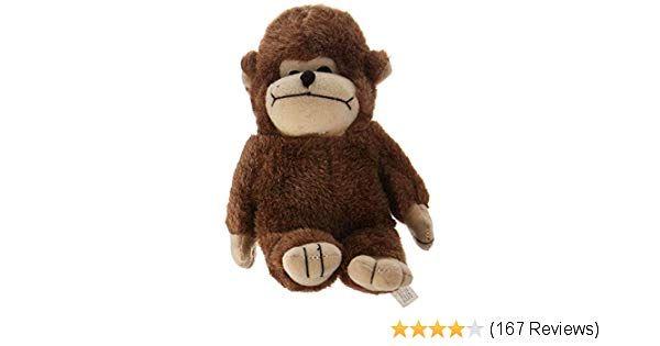 Pet Supplies Pet Squeak Toys Multipet Look Who s Talking Monkey Dog Toy Amazon