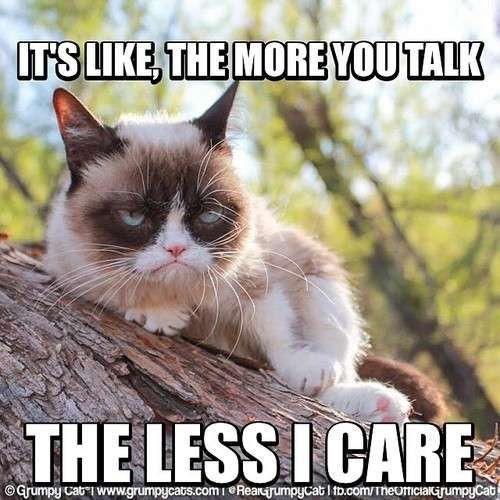 It s Like The More You Talk