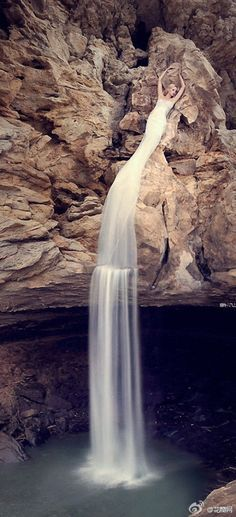How e I didn t think of this Waterfalls Portraits Fantasy graphy