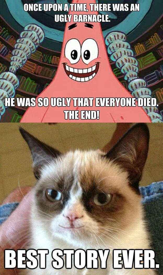 Image result for grumpy cat memes human clan