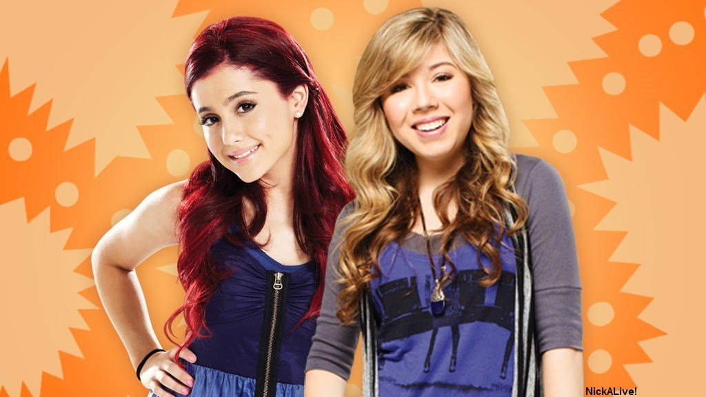 Nickelodeon Sam And Cat Brand New Nick edy Show Series Sit Starring Nick Stars Jennette McCurdy As Puckett And Ariana Grande As Cat Valentine iCarly Victorious NickDot Website Orange 2