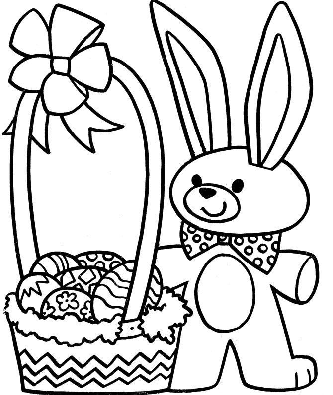 Easter Bunny Coloring Pages Unique Easter Bunny Drawings Good Coloring Beautiful Children Colouring 0d Easter