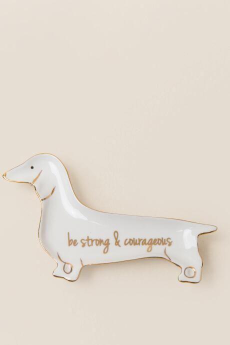 Strong Doxie Trinket Dish Dachshund Gifts Dachshund Love Weenie Dogs Dachshund Quotes