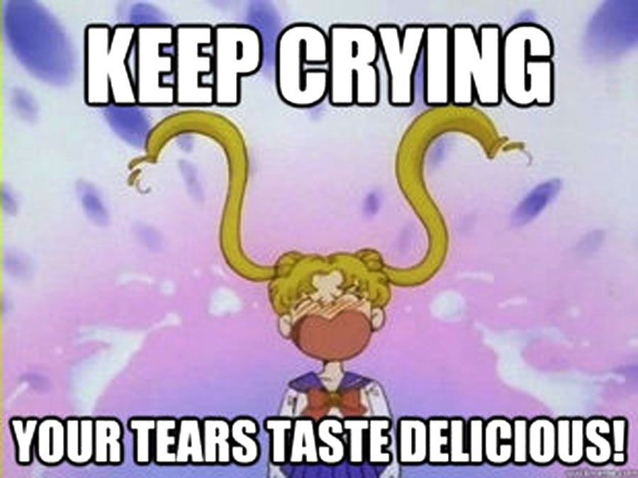 Serena Usagi Sailor Moon Anime Meme ""