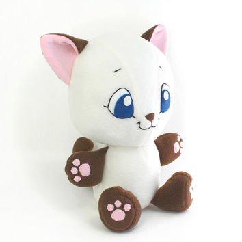 Plush Sewing Pattern PDF Kitten Cat cute soft toy cuddly stu