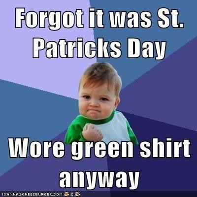 St Patricks day Memes funny
