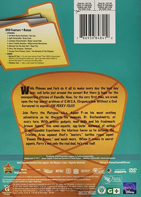 Amazon Disney Phineas & Ferb The Perry Files Thomas Sangster Ashley Tisdale Vincent Martella Jeff Marsh Dan Povenmire Movies & TV