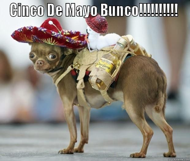 cinco de mayo bunco
