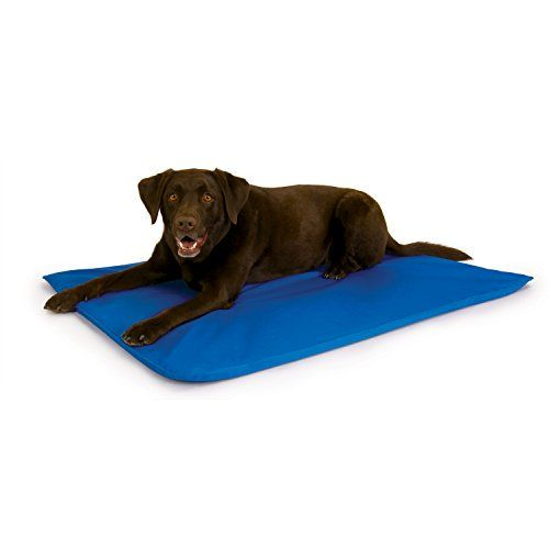 """The """"Cool Core"""" inside the bed absorbs your dog s body temperature 102º F and then converts it to room temperature creating a cooler"""