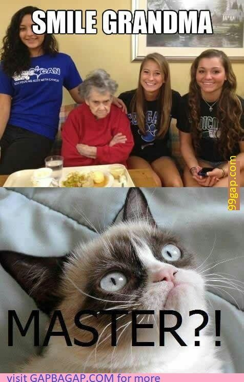 Funny Meme About Grandma vs Happy Birthday