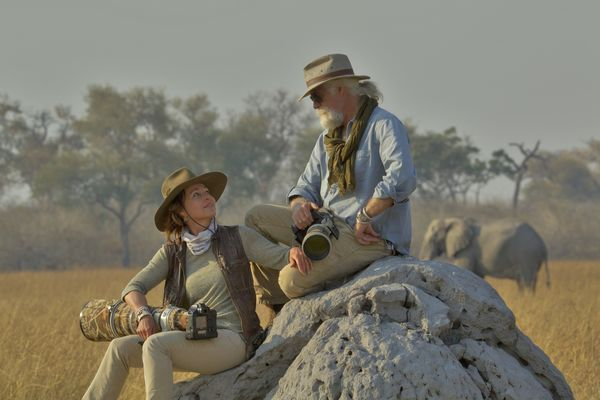 National Geographic Explorers at Dereck and Beverly Joubert