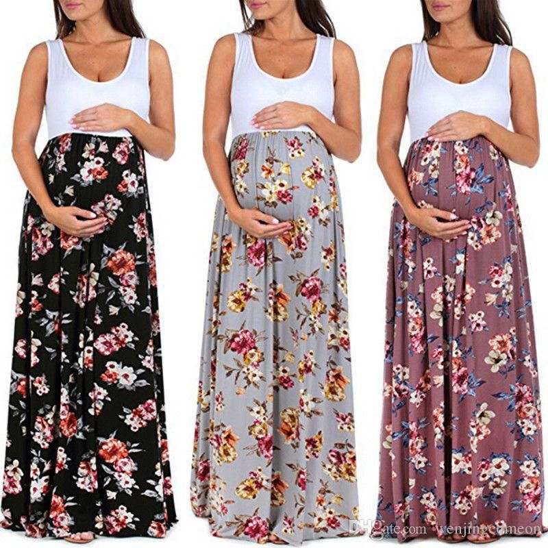 Women Pregnant Maternity Clothing Dress y graphy Props Dress Sleeveless Maternity Dress For Props Shoot Mom Dresses line with $13 78 Piece on