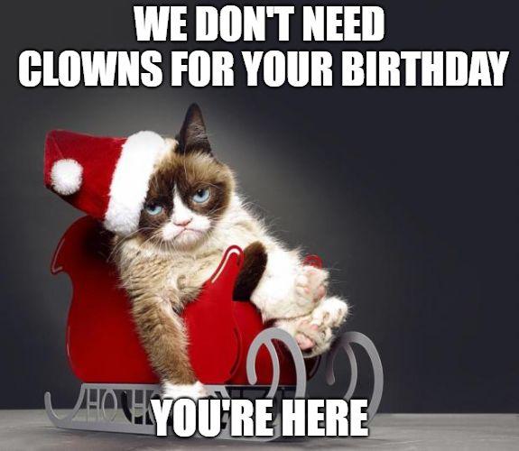 Birthday Grumpy Cat Meme 1