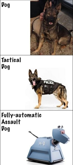Fully Automatic Assault Dog