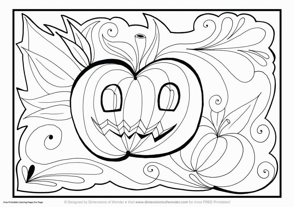Cool Halloween Drawings Luxury Lovely Printable Home Coloring Pages Best Color Sheet 0d Modokom Fun
