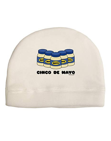 TooLoud Cinco de Mayo 5 Mayo Jars Adult Fleece Beanie Cap Hat