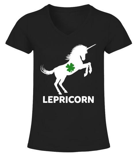 Leprricorn Funny St Patrick s Day Shirt T shirt