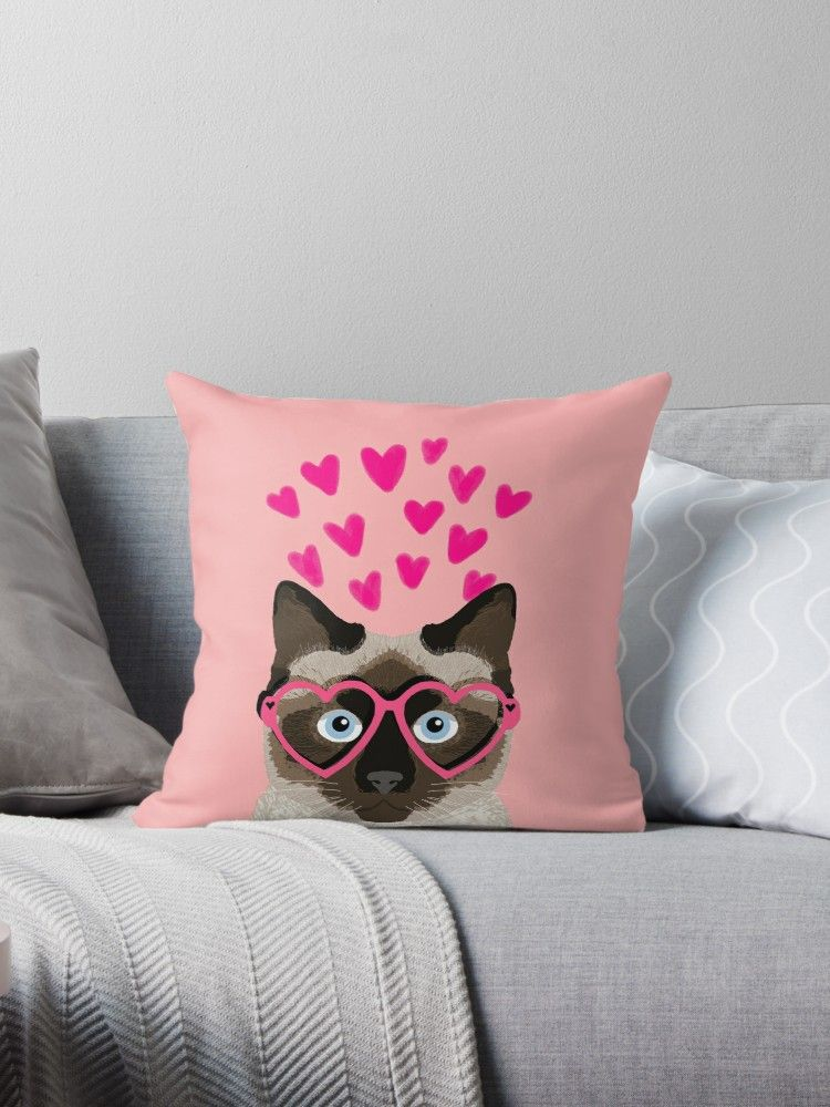 Siamese Cat valentines day love hearts t for cat lady cute kitten funny cats