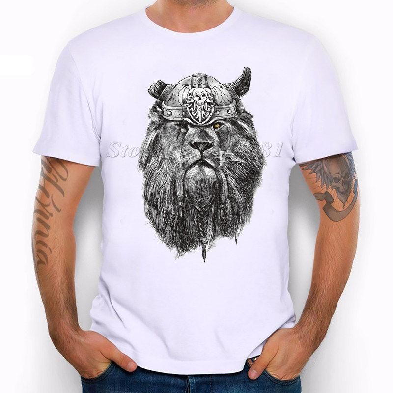 Lion Jungle Big Cat Animals Cute Vikings Lovely Funny Joke Men T Shirt Tee T Shirt Slogans Dirty T Shirts From Tshirtmaniac $11 01 DHgate