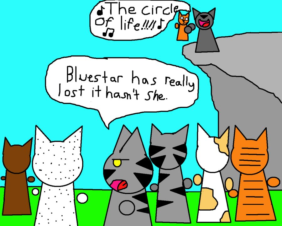 Firepaw joins ThunderClan by talyasaurusviantart on DeviantArt firestar bluestar