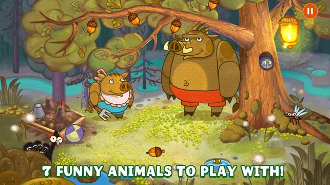 Forestry Forest Animals Bedtime story for kids 4