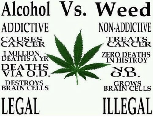Memes Weed and Zero Alcohol Vs Weed ADDICTIVE NON ADDICTIVE AUSE