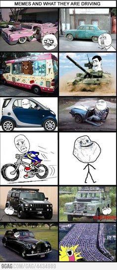 Meme cars