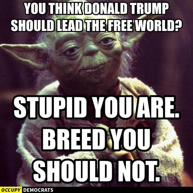 Yoda on Donald Trump