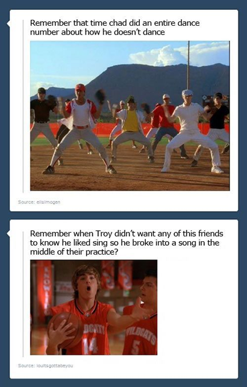 High School Musical problems… Funny QuotesHigh