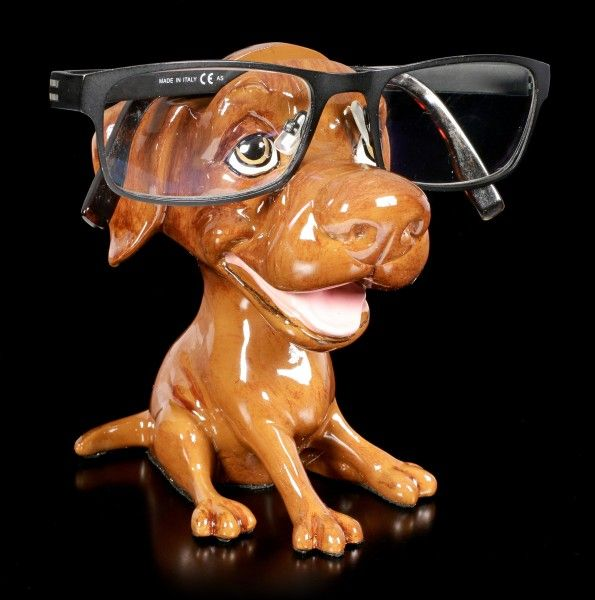 Glasses Holder Dog Chocolate Labrador Opti Paws
